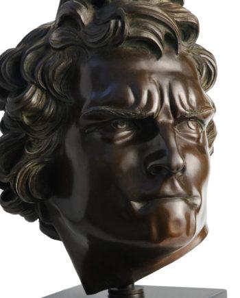 Bernini's David head