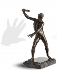 ercole-clava-giambologna-silhouette