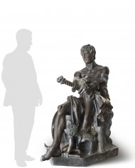 marte-seduto-ludovisi-silhouette