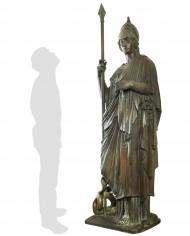 minerva-vaticana-bronzo-silhouette
