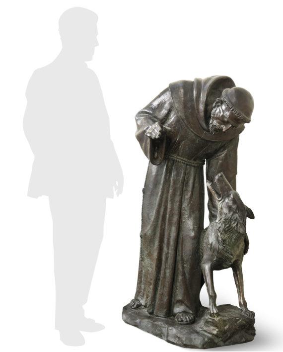 san-francesco-lupo-cappelletti-silhouette