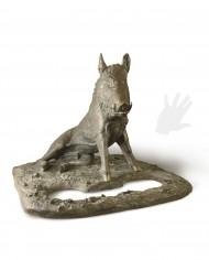 porcellino-medio-bronzo-silhouette