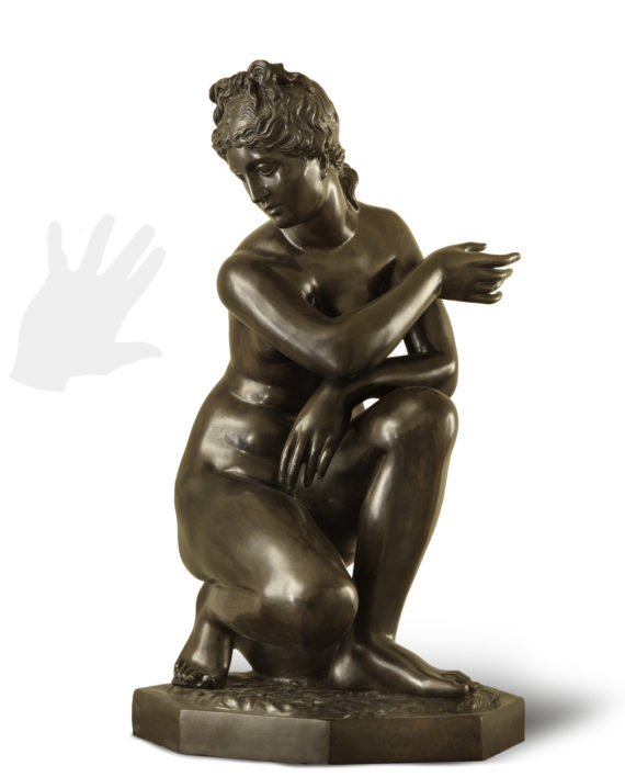 venere-colca-bronzo-silhouette