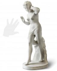 venere-udito-marmo-silhouette