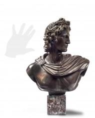 busto-apollo-belvedere-bronzo-silhouette