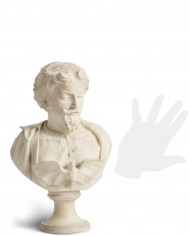 busto-friedrich-schiller-alabastro-silhouette