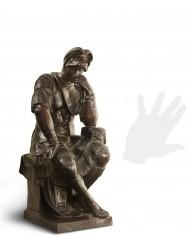 lorenzo-medici-bronzo-silhouette