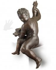 putto-giambologna-bronzo-silhouette
