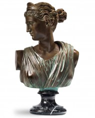 busto-diana-cacciatrice-bronzo