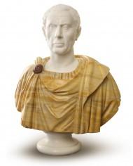 busto-giulio-cesare-marmo-bicolore
