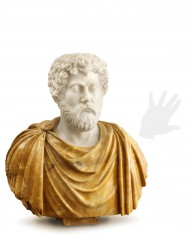 busto-marmo-aurelio-marmo-bicolore-silhouette