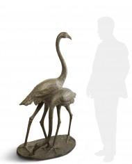 fenicotteri-cappelletti-bronzo-silhouette
