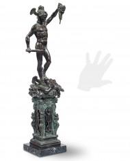 perseo-cellini-bronzo-silhouette