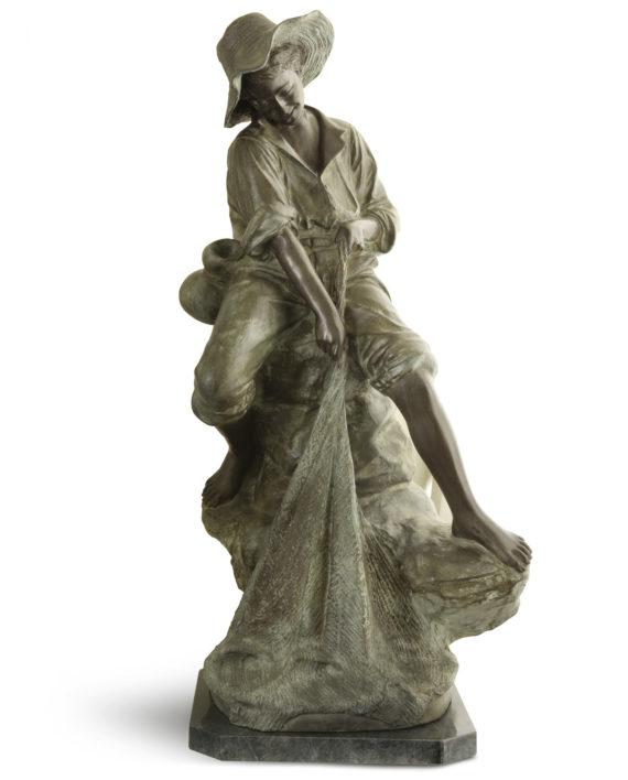 pescatore-rete-bronzo