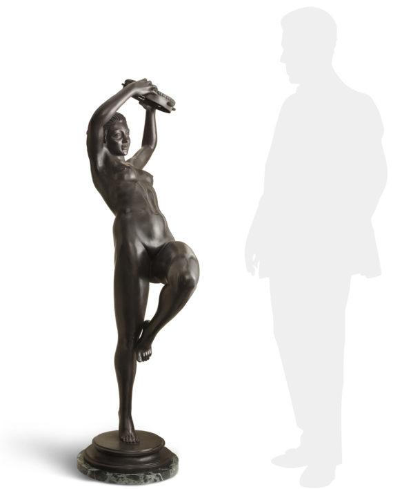 tarantella-bronzo-silhouette