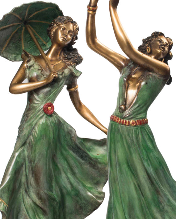 Liberty Dancer, bronze sculpture for sale, Pietro Bazzanti Art Gallery Firenze