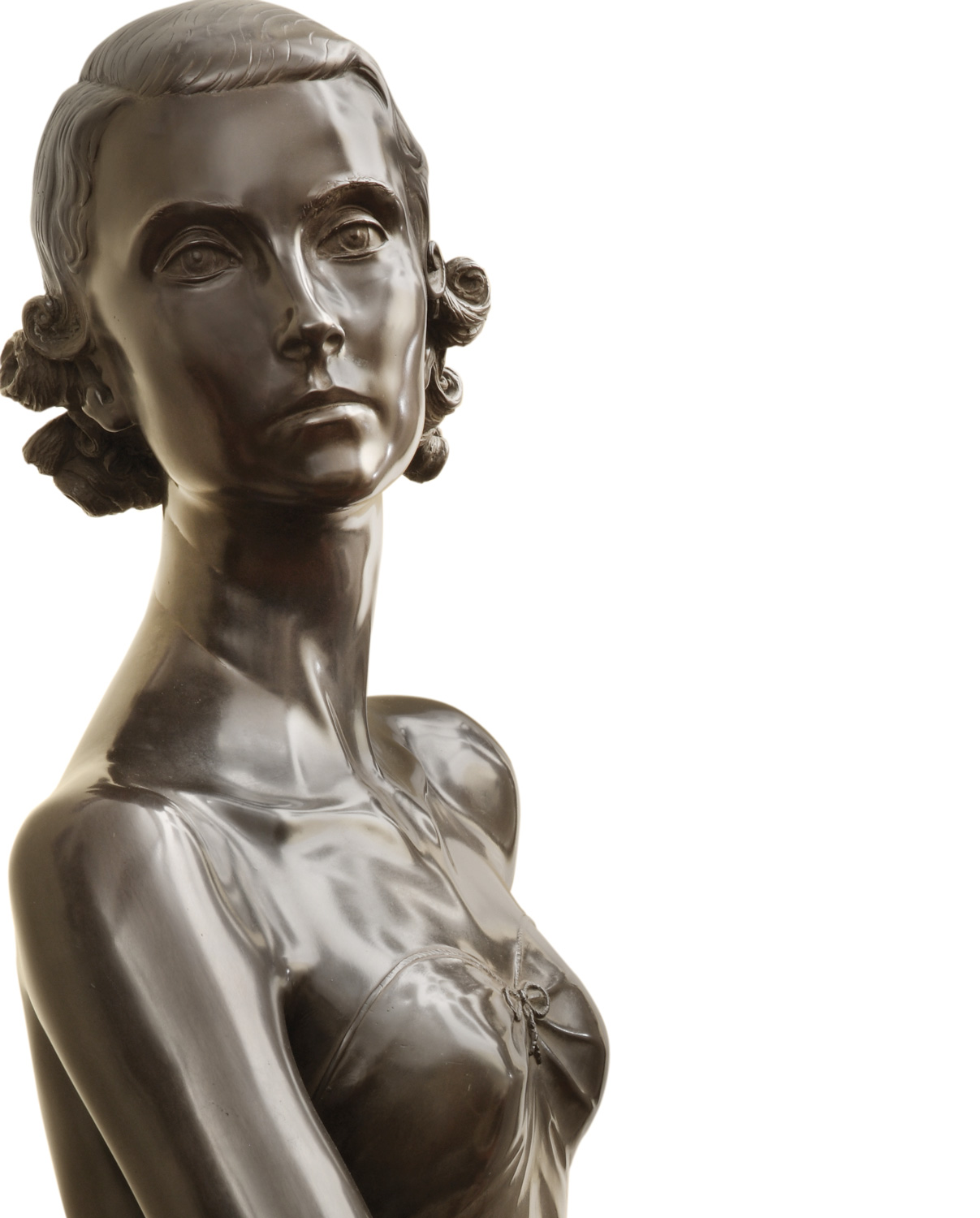Barbara, original work of art by Antonio Berti. Bronze sculpture for sale, Pietro Bazzanti Art Gallery, Florence, Italy