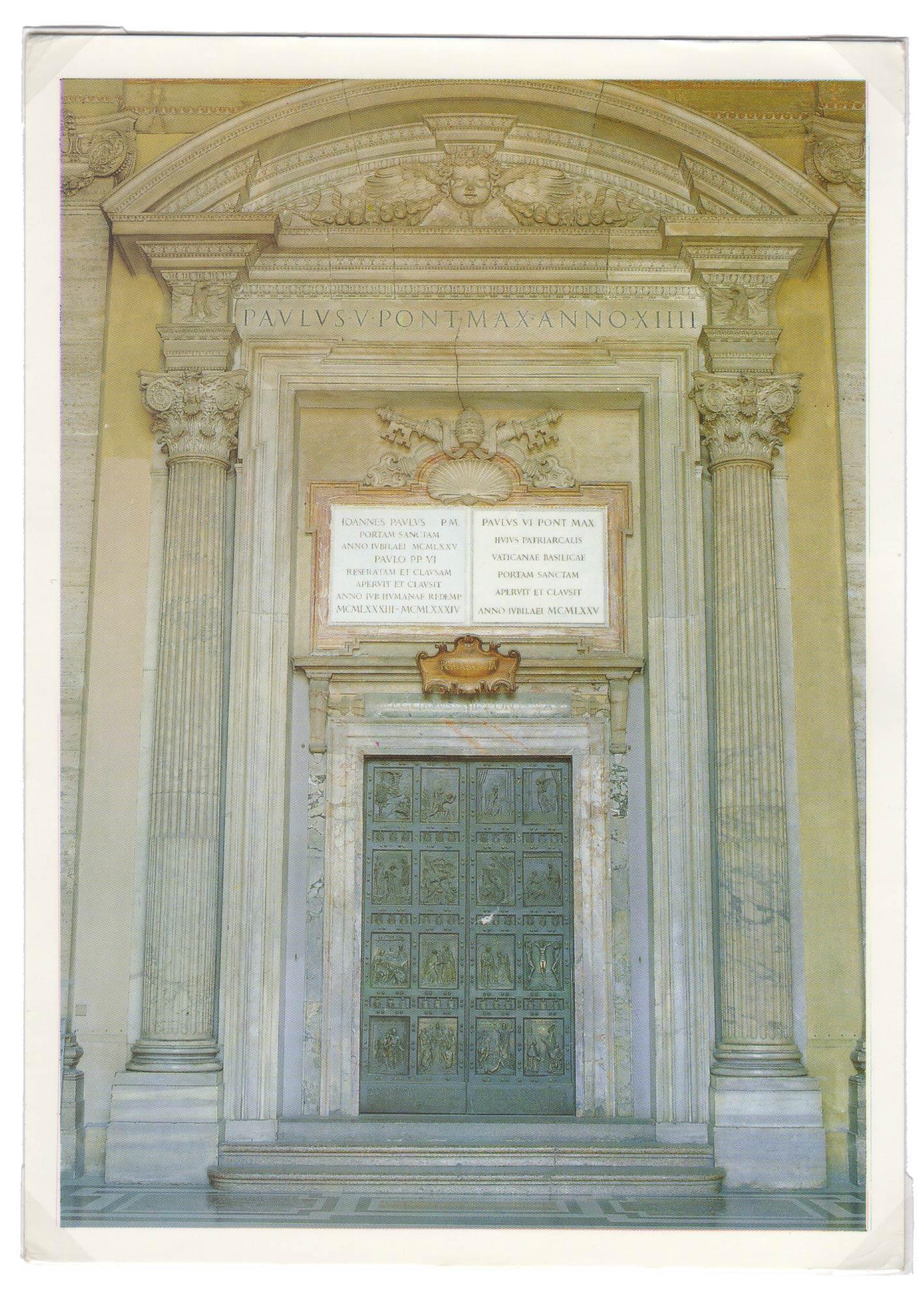 Cartoline porta santa1 galleria d 39 arte pietro bazzanti - Porta cartoline ...