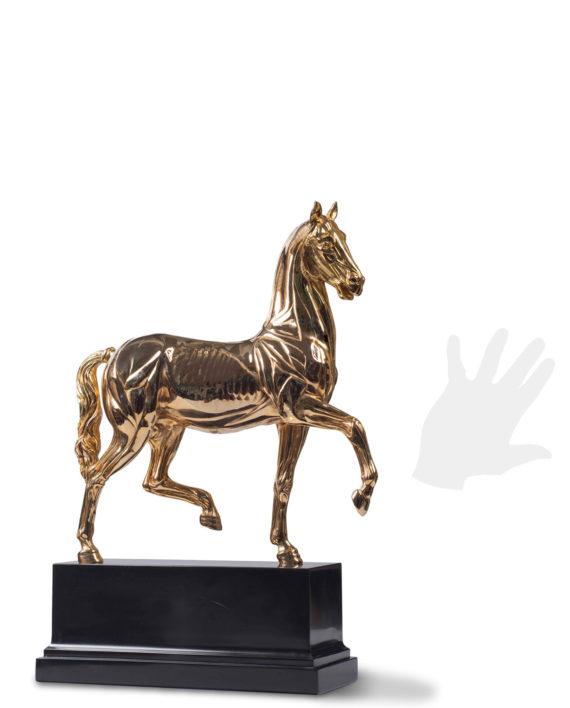 cavallo-anatomico-dorato-silhouette