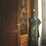Etruscan Minerva. Bronze sculpture for sale, Pietro Bazzanti Art Gallery, Florence, Italy