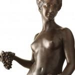 Pomona original work of art by Donatello Gabbrielli. Bronze sculpture for sale, Pietro Bazzanti Art Gallery, Florence, Italy