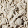 bas-relief. Marble sculpture for sale, Pietro Bazzanti Art Gallery, Florence, Italy