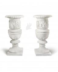 vasi-decorati-marmo-silhouette