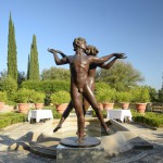 the Dance, original work of art by Sergio Benvenuti. Bronze sculpture for sale, Pietro Bazzanti Art Gallery, Florence, Italy