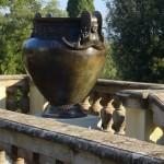Vase of Vix. Bronze sculpture for sale, Pietro Bazzanti Art Gallery, Florence, Italy