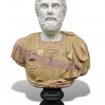Bust of Hadrian. Marble sculpture for sale, Pietro Bazzanti Art Gallery, Florence, Italy