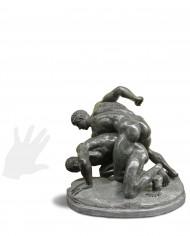 lottatori-verde-prato-silhouette