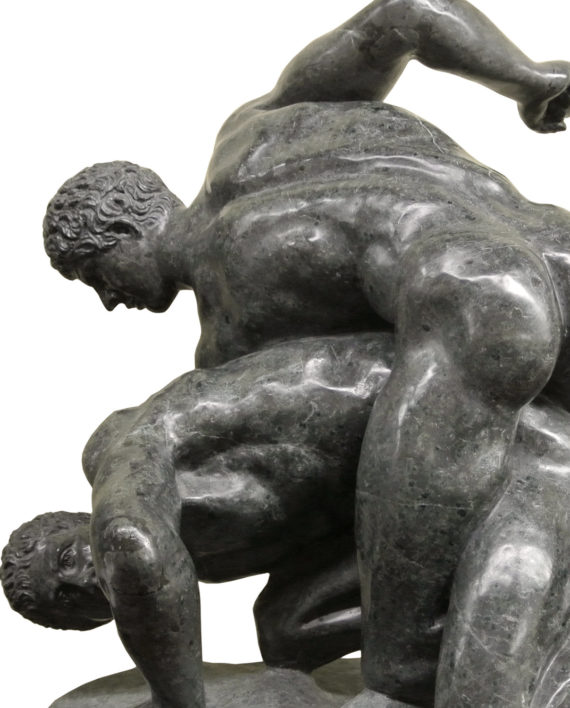 Wrestlers, Uffizi Gallery. Marble sculpture for sale, Pietro Bazzanti Art Gallery, Florence, Italy