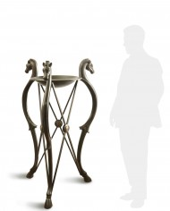 tripode-bronzo-grande-silhouette