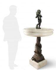 fontana-delfini-tartaruga-silhouette