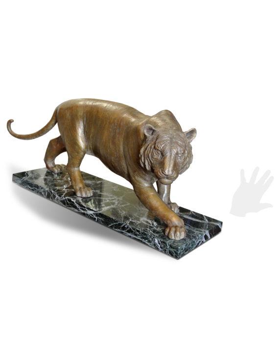 tigre-eleonora-villani-bronzo-silhouette