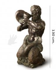 tritone-bronzo-benvenuti-silhouette2
