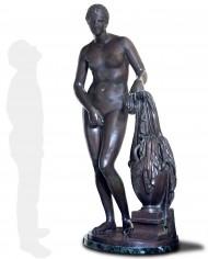 venere-cnido-bronzo-silhouette
