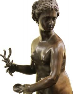 Galatea. Bronze sculpture for sale, Pietro Bazzanti Art Gallery, Florence, Italy
