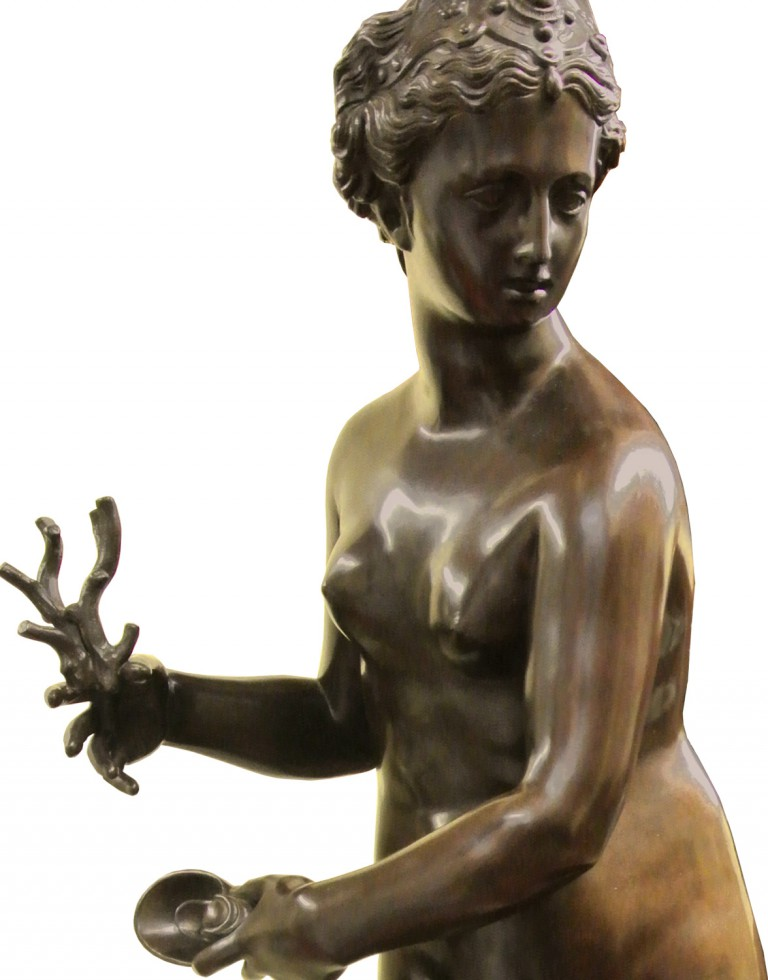Galatea. Bronze sculpture for sale, Pietro Bazzanti Art Gallery, Florence, Italy
