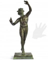fauno-danzante-bronzo-silhouette
