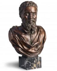 busto-michelangelo-bronzo