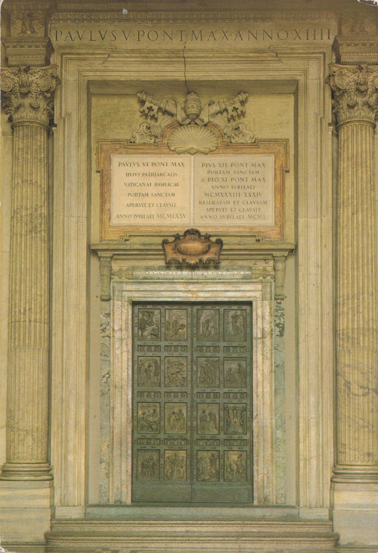 Cartoline porta santa2 galleria d 39 arte pietro bazzanti - Porta cartoline ...