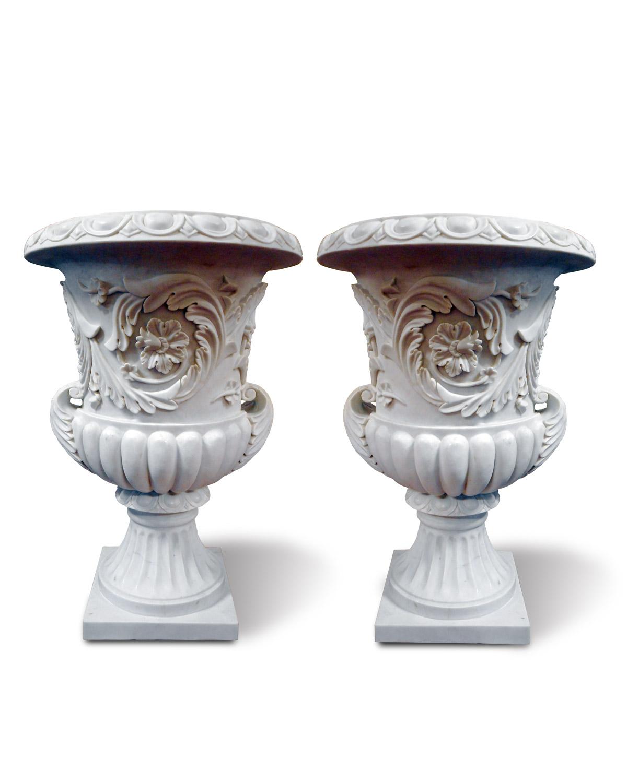 Vasi marmo decorati galleria d 39 arte pietro bazzanti figlio for Vasi marmo