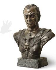 busto-gattamelata-bronzo-silhouette