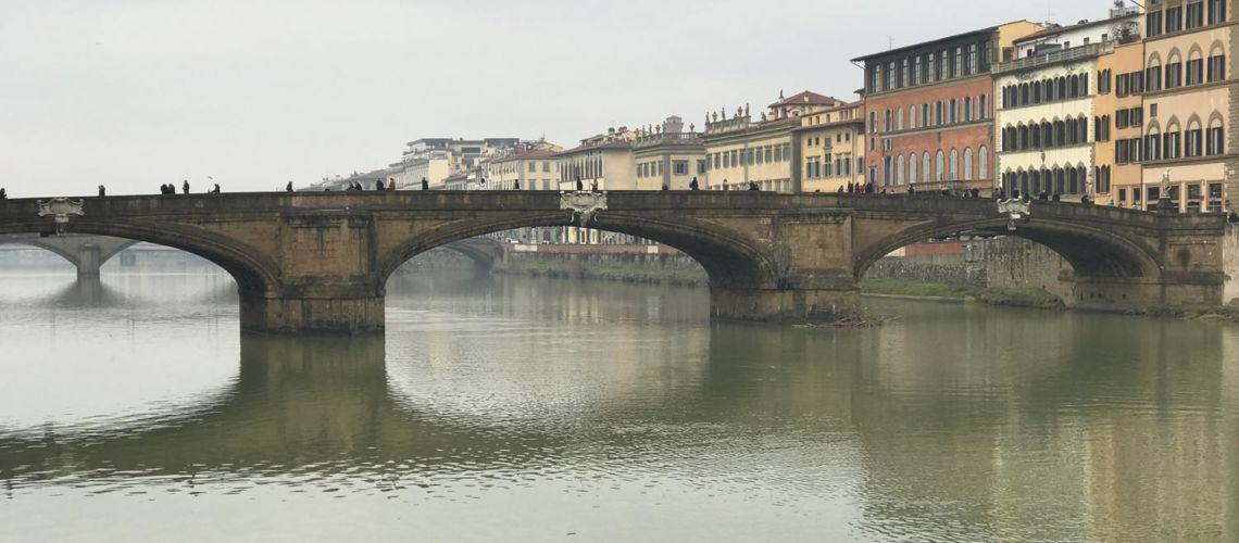 Ponte Santa Trinita a Firenze