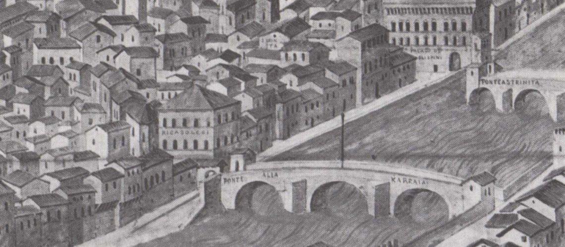 ponte alla Carraia e Lungarno Corsini