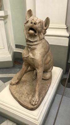 03 - Secondo Molosso romano in marmo agli Uffizi