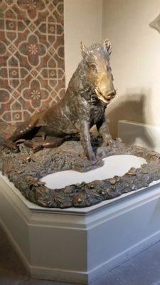 Porcellino ottocentesco al Museo Bardini