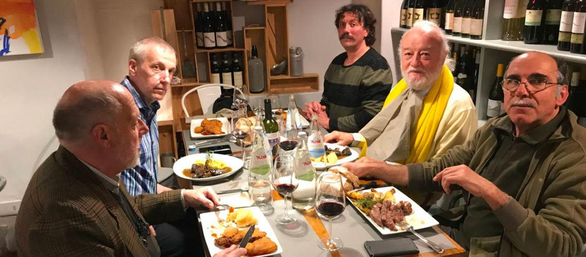 replica del dacio pileatus di boboli galleria bazzanti commissione rumena pranzo