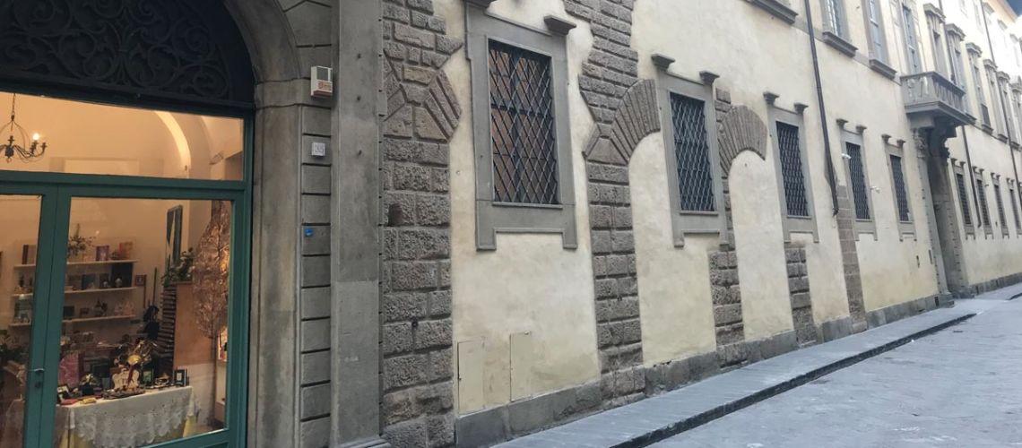 lungarno corsini e galleria bazzanti palazzo corsini